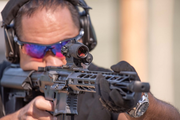 Sightmark Wolverine 1x23 CSR red dot sight