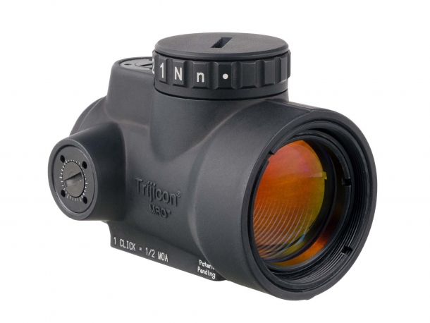 The Trijicon MRO offers special-glass, advanced multicoated lenses