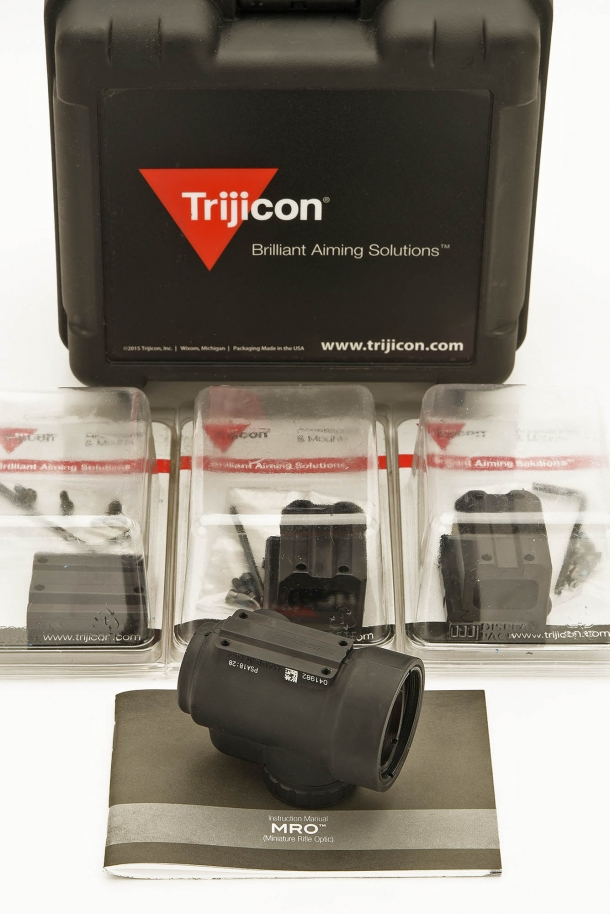 A plethora of mounting options are available for the MRO – both from Trijicon and from third parties alike