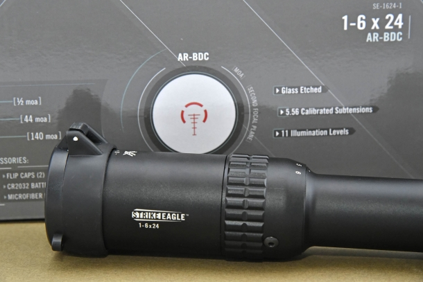 Vortex Strike Eagle 1-6x24 AR-BDC riflescope