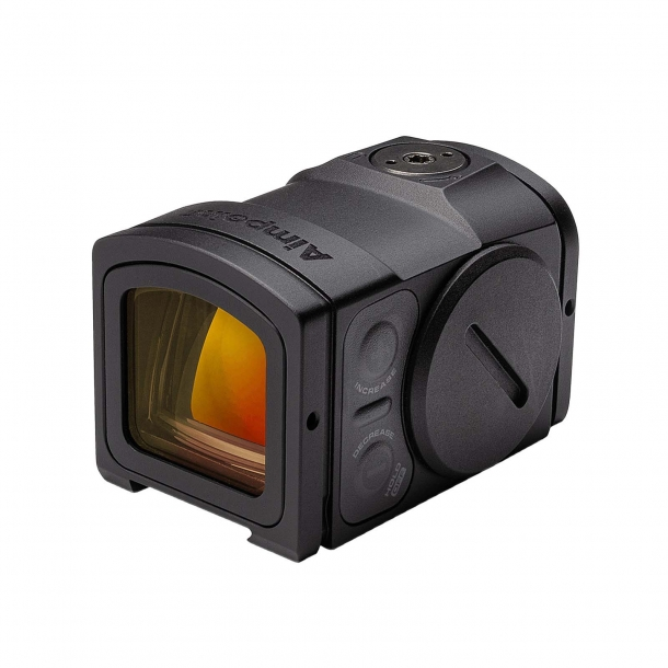 Aimpoint ACRO P-2 red dot sight – left side