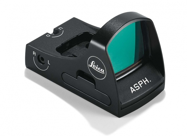 Leica's first red dot sight, the Tempus ASPH, was launched at the 2018 edition of the IWA expo in Nuremberg (Germany)