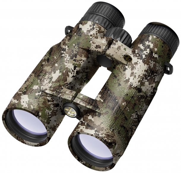 The Leupold BX5 Santiam HD binoculars are available in shadow grey, SITKA Subalpine or SITKA Open Country camo