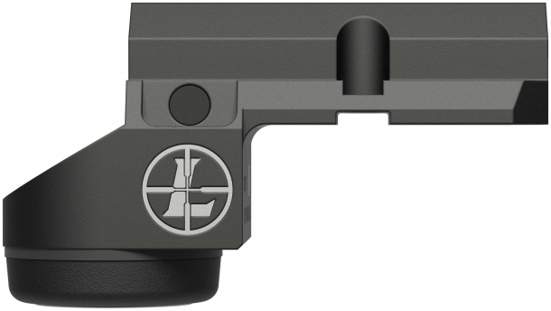 Leupold Deltapoint Micro red dot sight for Glock pistols – right side
