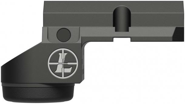 Ottica Leupold Deltapoint Micro, versione per pistole Glock – lato destro