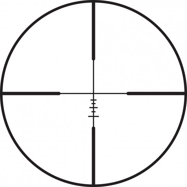 Leupold Mark 3HD: reticolo AR Ballistic
