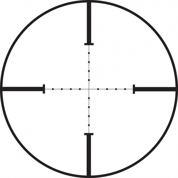 Leupold Mark 3HD: reticolo MIL-Dot