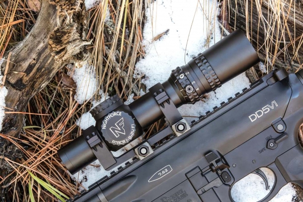 The new Nightforce ATACR 1-8x24 F riflescope