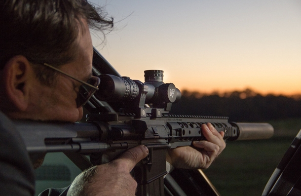 The new Nightforce NX8 1-8x24 F1 riflescope