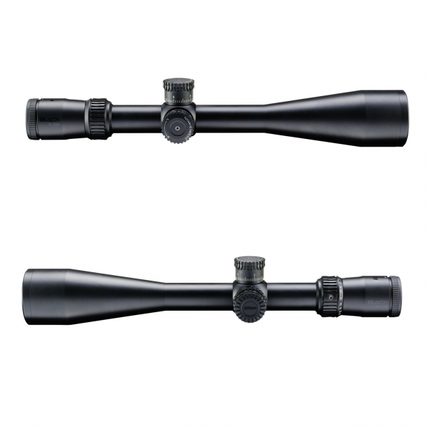 The Nikon BLACK X1000 6-24x50 riflescope with illuminated reticle