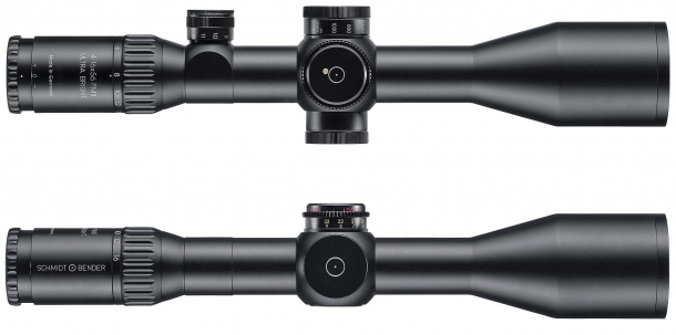 Both the 3-12x54 and the 4-16x56 versions offer a superior light transmission factor, exceeding 96%