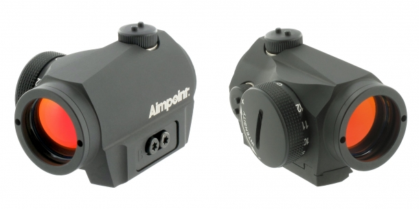 The new Aimpoint Micro S-1 was designed specifically for use on shotguns