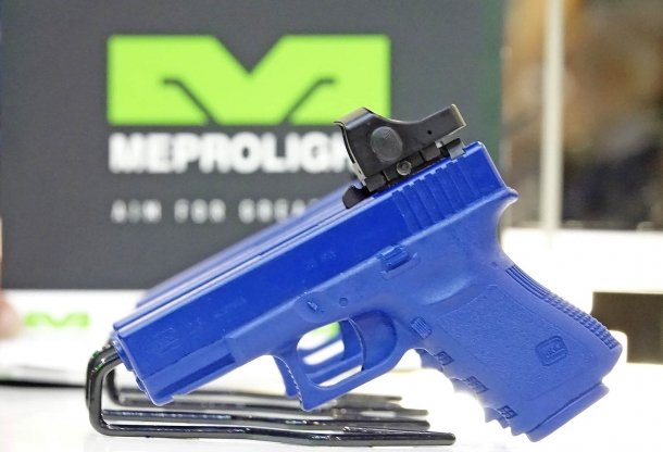 Meprolight also introduces the Micro RDS small-sized reflex sight for handguns