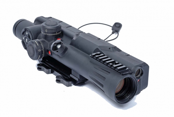 MEPRO MESLAS - Sniper's Fire-Control Riflescope 10x40 with Fully Integrated Laser Rangefinder