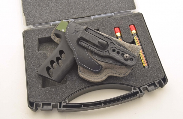 "A concealed carry configuration: the Ace Co. Micro-Shot in a Radar 5074 ""Invisible"" IWB holster"
