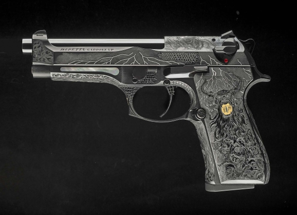 Beretta 98FS Demon, seen from the left side
