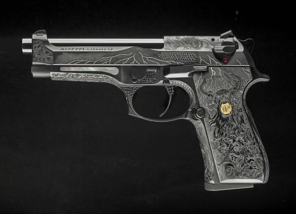 Beretta 98FS Demon, seen from the left side