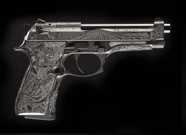 Beretta 98FS Demon, seen from the right side