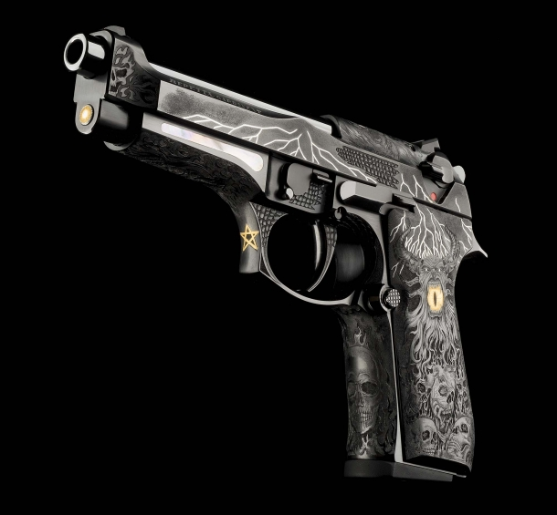 The Beretta 98FS Demon pistol