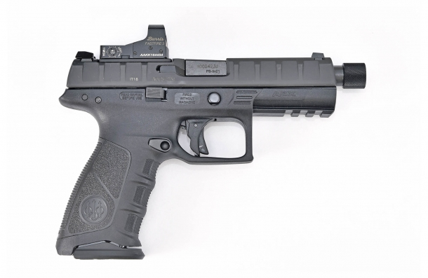 The right side of the new Beretta APX Combat pistol