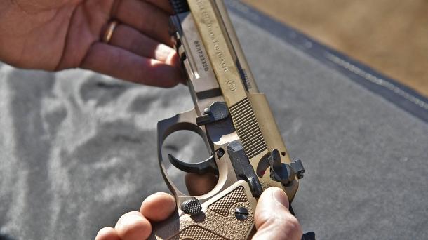 La Beretta M9A3 si smonta esattamente come tutte le altre varianti