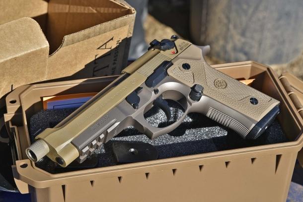 Lato sinistro della Beretta M9A3