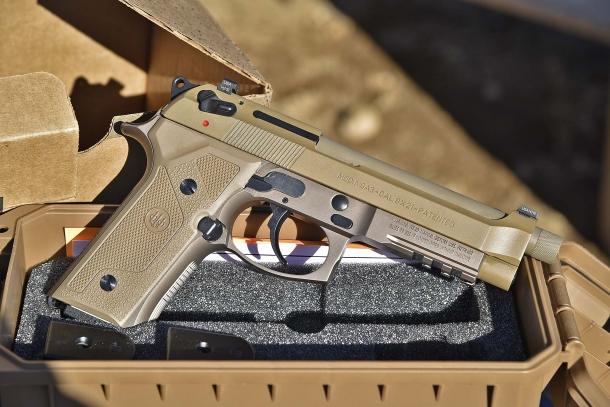 Lato destro della Beretta M9A3