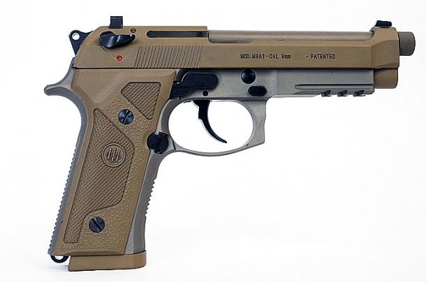 Il modello M9A3 è l'ennesima variante della Beretta serie  92 che sostanzialmente non apporta alcuna modifica al modello originale ma comunque appetibile a livello collezionistico