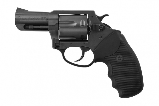 Charter Arms Bulldog in .44 Special con finitura Black Nitride