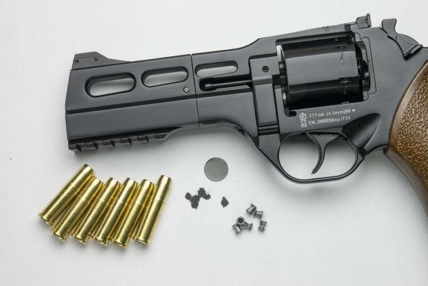 Versione AC 4,5mm, rosata ottenuta a 7 metri