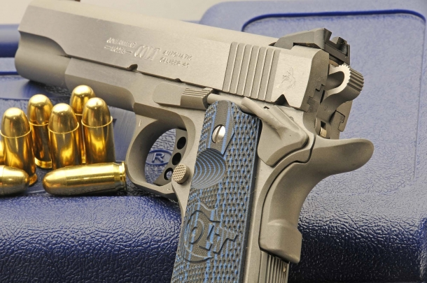 Colt Competition Pistol: the match-ready 1911