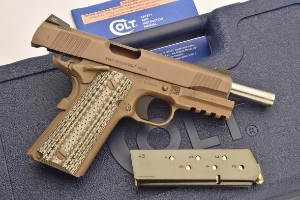 Colt M45A1 CQBP: the MARSOC pistol | GUNSweek com