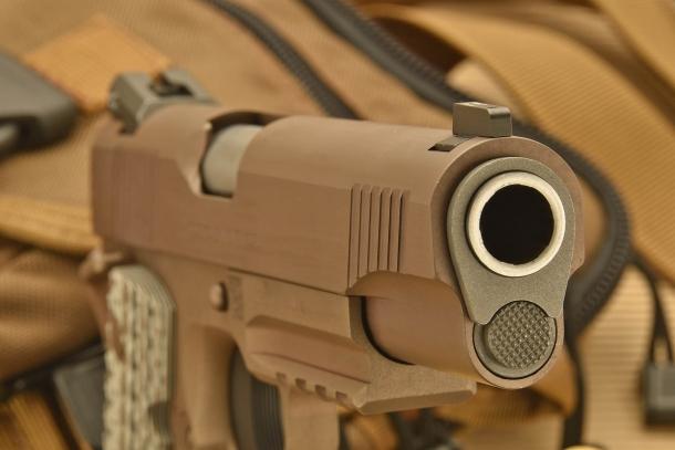"""Boccola di canna (""""Bushing"""") della M45A1"""