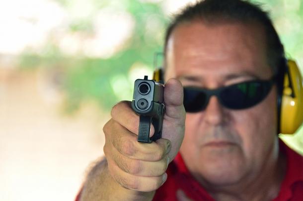 Glock G43 al tiro
