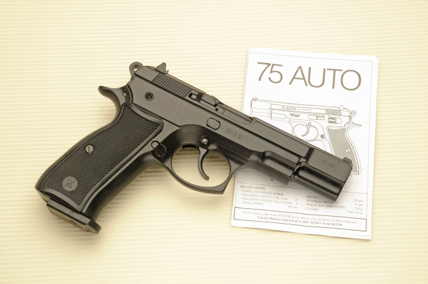 "Kimar ""75 Auto"", copy of the CZ 75 pistol"