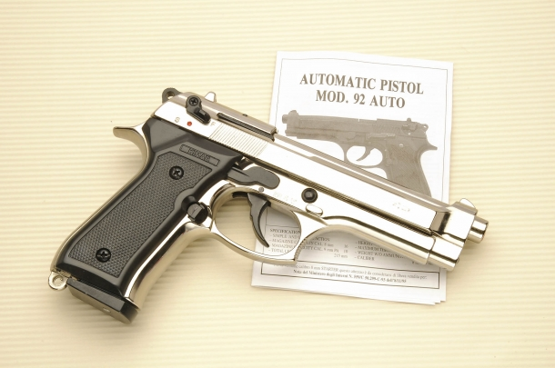 "Kimar ""92 Auto"", copy of the Beretta 92 pistol"