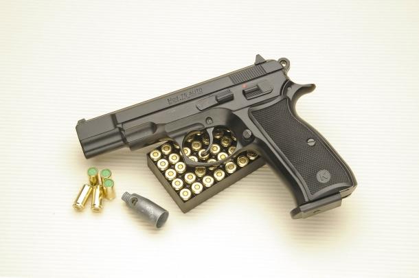 La Kimar 75 Auto è una pistola da segnalazione in calibro 9mm PAK