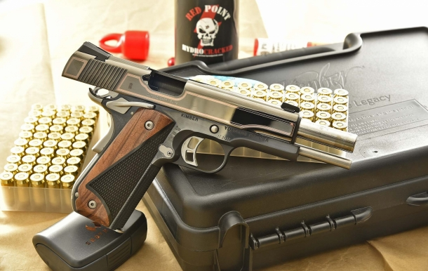 The Classic Carry Elite model is a Kimber Custom Shop creation