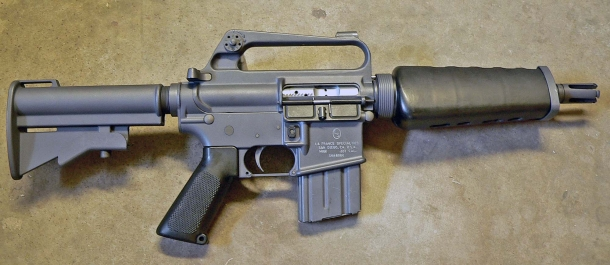 Manufacturing an ultra-compact AR-15 variant that's also hell-bent reliable is not impossible: the LaFrance Specialties M16K was one of the first and many