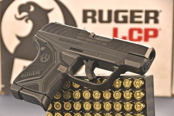 simile al primo modello, la Ruger LCP II  calibro .380 ACP ha diverse modifiche sostanziali, principalmente nel sistema di scatto