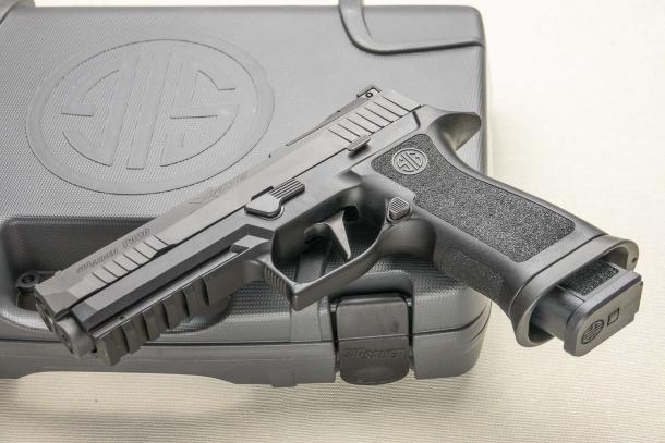 Pistola SIG Sauer P320 X-Five, modularità per il tiro dinamico