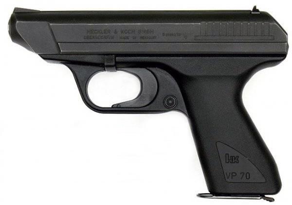 Pistole Striker-Fired: Heckler & KochVP70