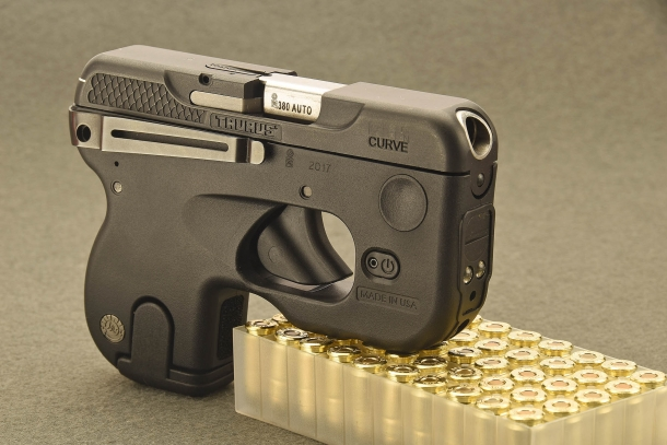 Taurus 180 Curve pocket pistol | GUNSweek com