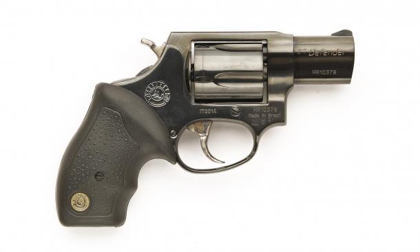 Revolver Taurus 85 Defender, lato destro