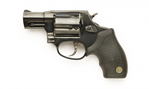 Left side of the Taurus 85 Defender revolver