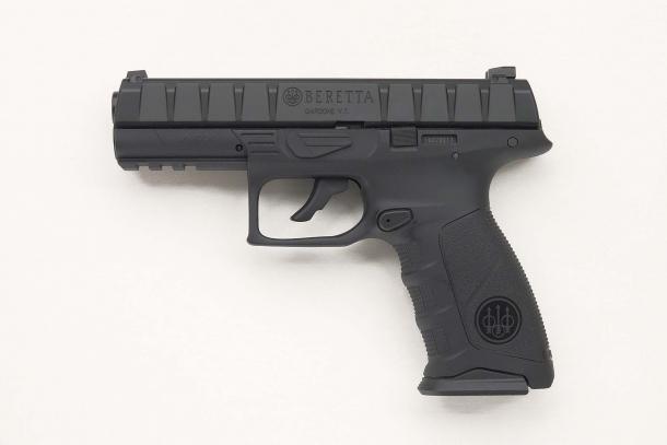 Left side of the pistol