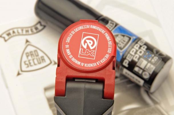 Il sigillo di sicurezza apposto dal distributore italiano Origin STB