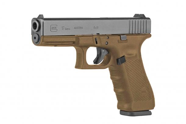 Per la preparazione custom di questo articolo abbiamo usato una Glock 17 FDE