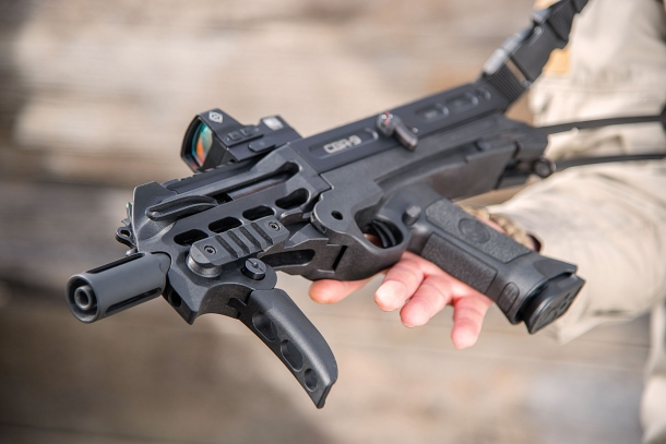 VIDEO: Chiappa Firearms CBR-9 Black Rhino