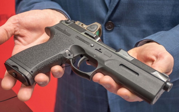 The new FK Brno PSD semi-automatic pistol